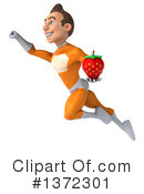Orange Super Hero Clipart #1372301 by Julos