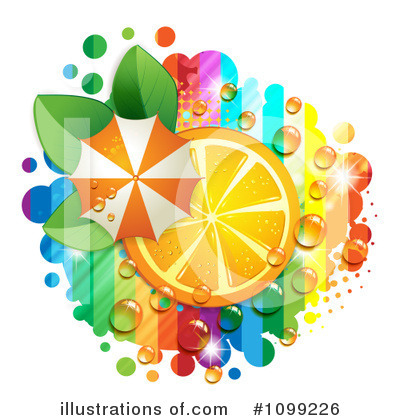 Oranges Clipart #1099226 by merlinul