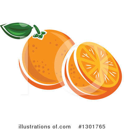 Oranges Clipart #1301765 by Vector Tradition SM