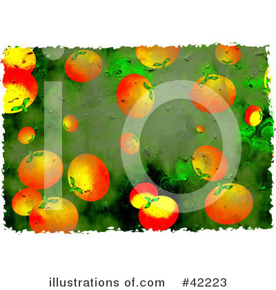 Royalty-Free (RF) Oranges Clipart Illustration by Prawny - Stock Sample #42223