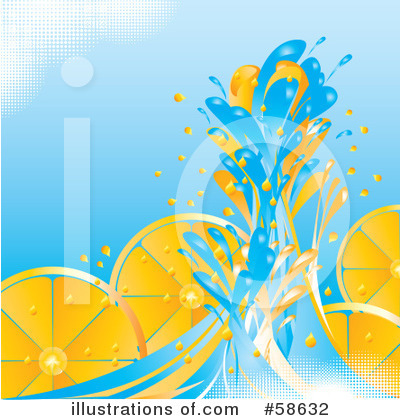 Royalty-Free (RF) Oranges Clipart Illustration by MilsiArt - Stock Sample #58632