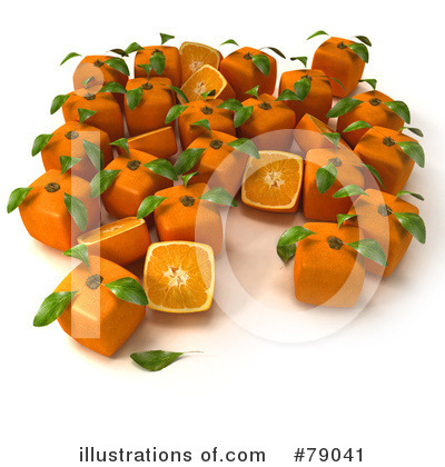 Oranges Clipart #79041 by Frank Boston