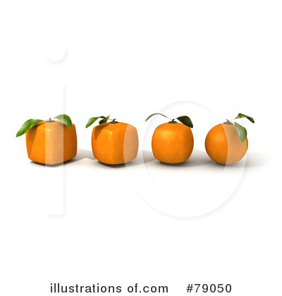 Oranges Clipart #79050 by Frank Boston