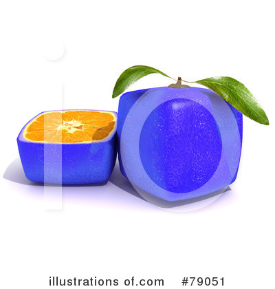 Royalty-Free (RF) Oranges Clipart Illustration by Frank Boston - Stock Sample #79051