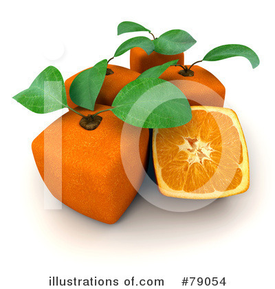 Oranges Clipart #79054 by Frank Boston