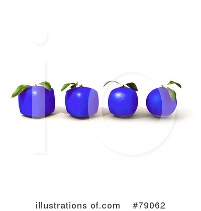 Oranges Clipart #79062 by Frank Boston