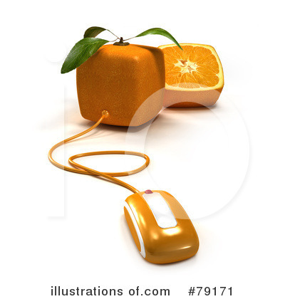Oranges Clipart #79171 by Frank Boston