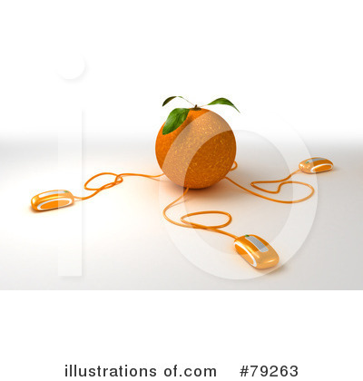 Oranges Clipart #79263 by Frank Boston