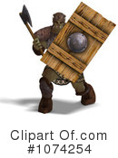 Royalty-Free (RF) orc Clipart Illustration #1074254