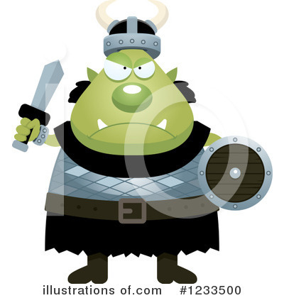 Ogre Clipart #1233500 by Cory Thoman