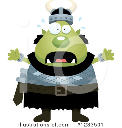 Ogre Clipart #1233501 by Cory Thoman
