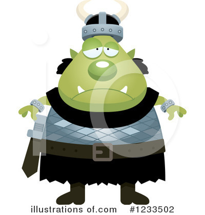 Ogre Clipart #1233502 by Cory Thoman