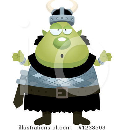 Ogre Clipart #1233503 by Cory Thoman