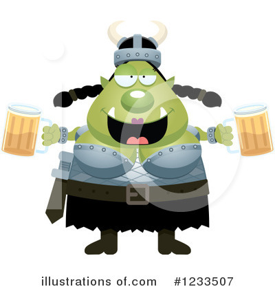 Ogre Clipart #1233507 by Cory Thoman