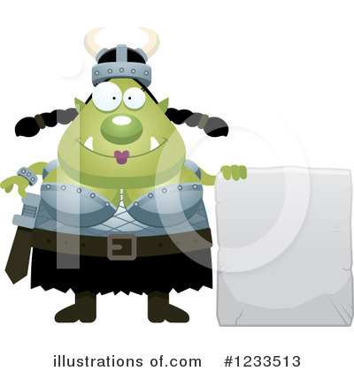 Ogre Clipart #1233513 by Cory Thoman