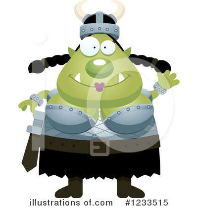 Ogre Clipart #1233515 by Cory Thoman
