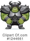 Orc Clipart #1244661 by Cory Thoman