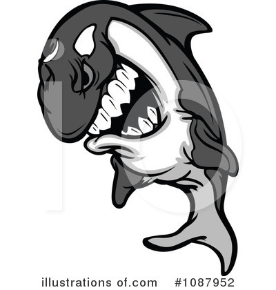 Orca Clipart #1087952 by Chromaco