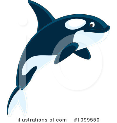 Orca Clipart #1099550 by Alex Bannykh
