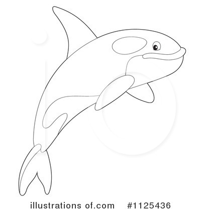 Orca Clipart #1125436 by Alex Bannykh