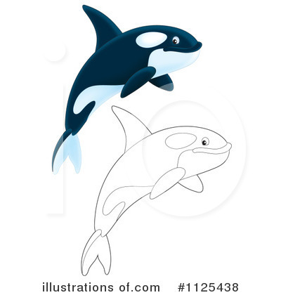 Orca Clipart #1125438 by Alex Bannykh