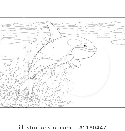Orca Clipart #1160447 by Alex Bannykh