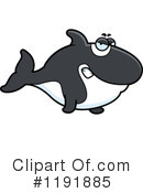 Orca Clipart #1191885 by Cory Thoman