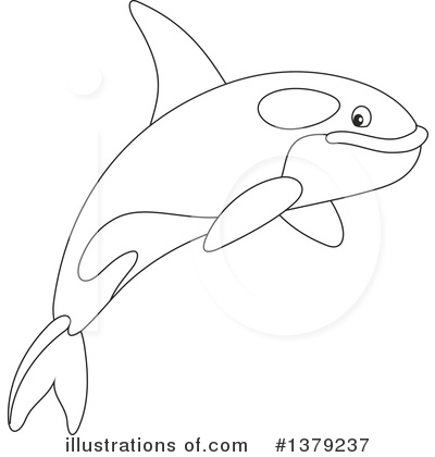 Orca Clipart #1379237 by Alex Bannykh