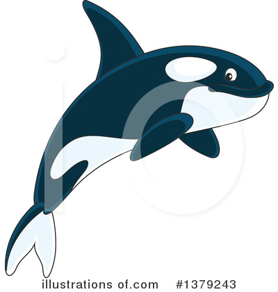Orca Clipart #1379243 by Alex Bannykh