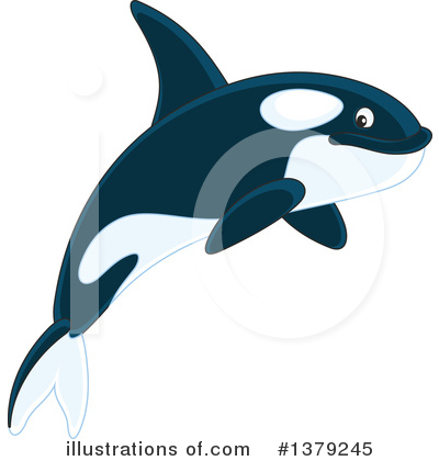 Orca Clipart #1379245 by Alex Bannykh