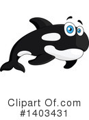 Orca Clipart #1403431 by Vector Tradition SM