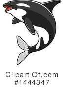 Orca Clipart #1444347 by Vector Tradition SM