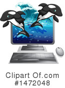 Orca Clipart #1472048 by Graphics RF