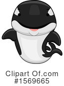 Orca Clipart #1569665 by BNP Design Studio