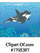 Orca Clipart #1705397 by Alex Bannykh