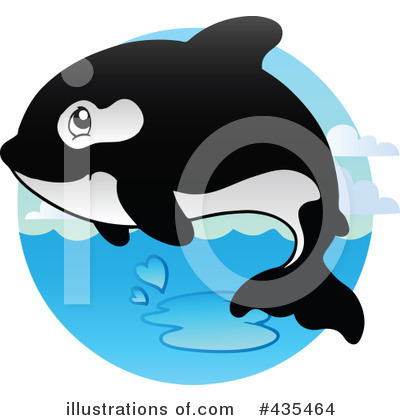 Orca Clipart #435464 by visekart