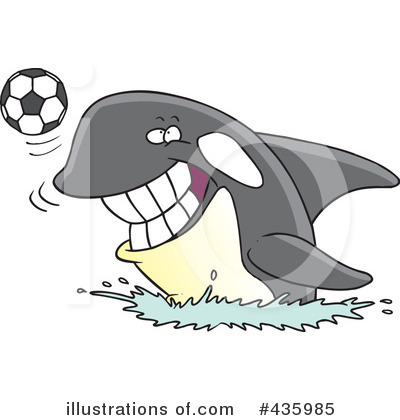 Soccer Clipart #435985 by toonaday