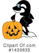 Orca Mascot Clipart #1439835 by Toons4Biz