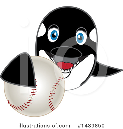 Orca Mascot Clipart #1439850 by Toons4Biz