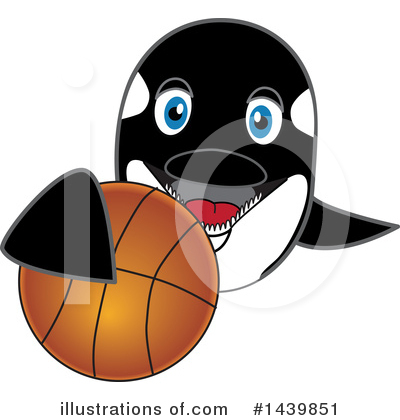 Orca Mascot Clipart #1439851 by Toons4Biz