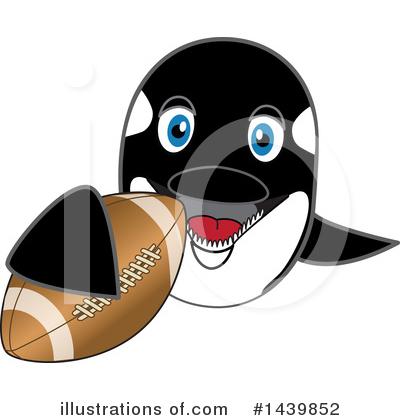 Orca Mascot Clipart #1439852 by Toons4Biz