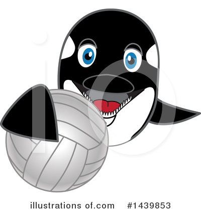 Orca Mascot Clipart #1439853 by Toons4Biz