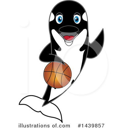 Orca Mascot Clipart #1439857 by Toons4Biz