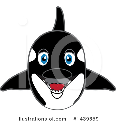 Orca Mascot Clipart #1439859 by Toons4Biz