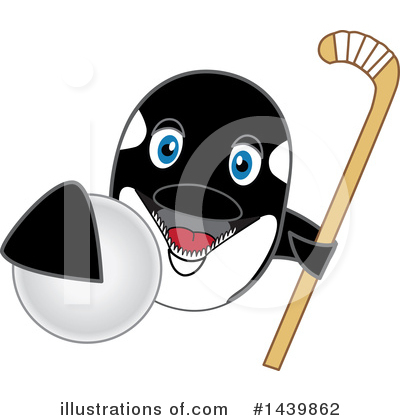 Orca Mascot Clipart #1439862 by Toons4Biz