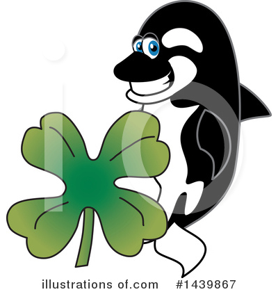Orca Mascot Clipart #1439867 by Toons4Biz