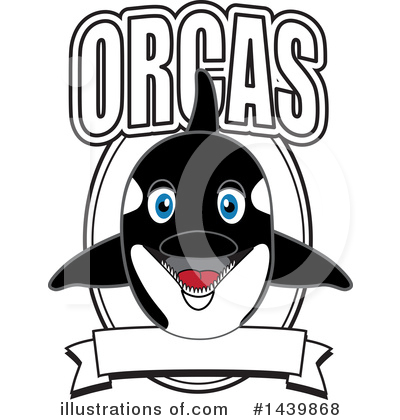 Orca Mascot Clipart #1439868 by Toons4Biz