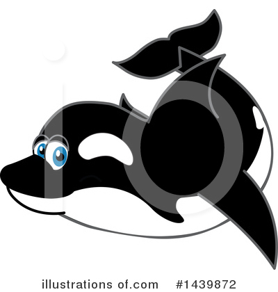 Orca Clipart #1439872 by Toons4Biz