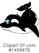 Orca Mascot Clipart #1439872 by Toons4Biz