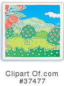 Orchard Clipart #37477 by Lisa Arts